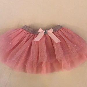 Glitter pink infant tutu